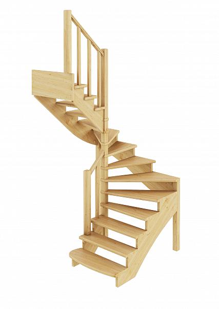 Лестница  К-003м/2  Л  сосна (5 уп)